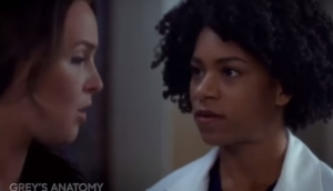 "Jo Wilson (Camilla Luddington) and Maggie Pierce (Kelly McCreary), ""Grey's Anatomy,"" photo courtesy www.travelerstoday.com"
